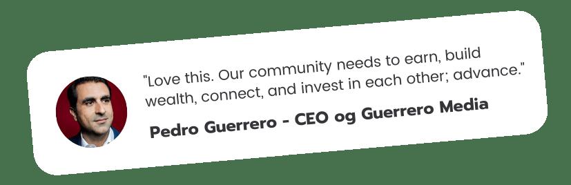 Pedro-Guerrero-Testimonial-Updated